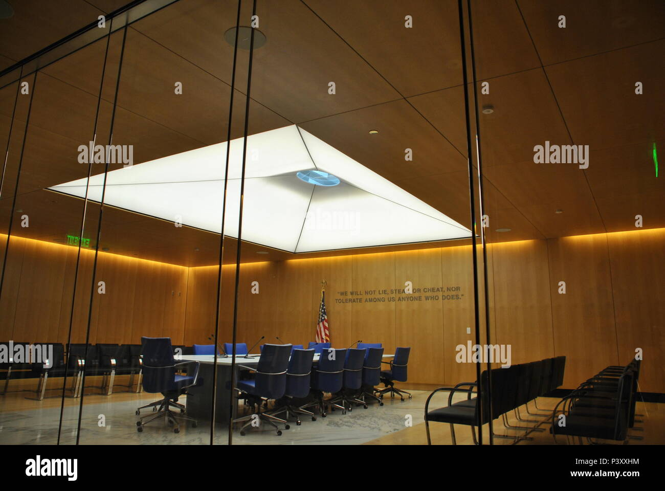 The Center For Character And Leadership Development At The U.S. Air Force  Academy, Colorado Springs, Colorado, Also Houses The Honor Board Room.