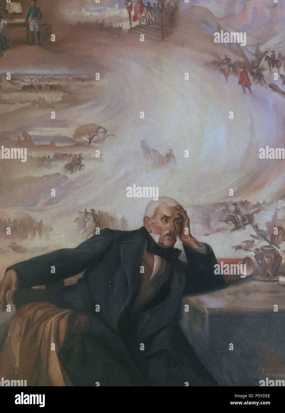 LA VISION DE SAN MARTIN (1778-1850) LIBERTADOR DE CHILE Y