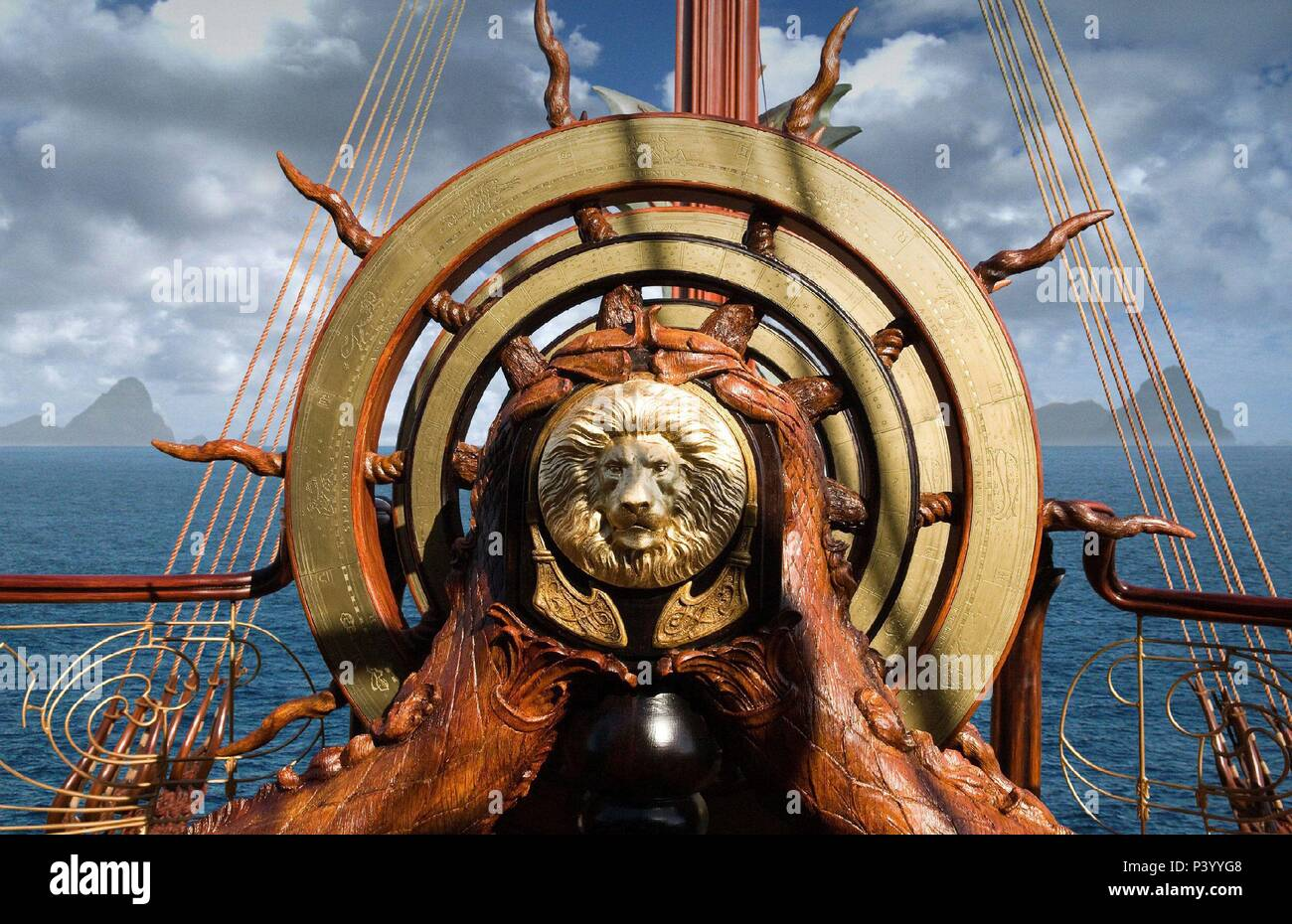 Original Film Title: CHRONICLES OF NARNIA, THE: THE VOYAGE OF THE DAWN TREADER.  English Title: CHRONICLES OF NARNIA, THE: THE VOYAGE OF THE DAWN TREADER.  Film Director: MICHAEL APTED.  Year: 2010. Credit: 20TH CENTURY FOX / Album - Stock Image