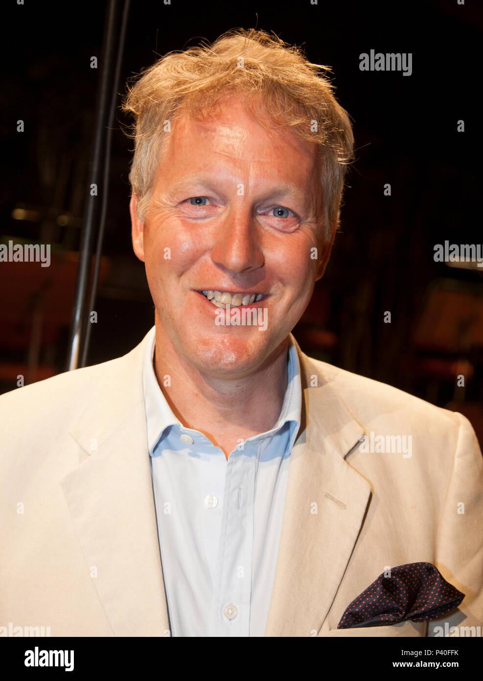 DAVID CAIRNS Ambassador for the United Kingdom in Sweden 2018 - Stock Image