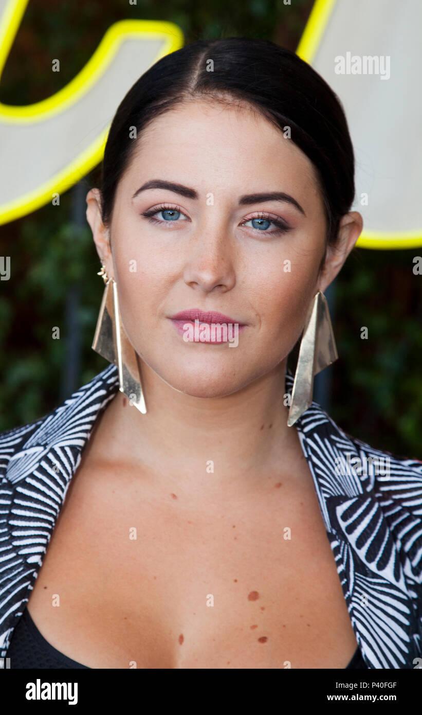 MOLLY SANDÉN Swedish pop singer and voice actress 2018 - Stock Image