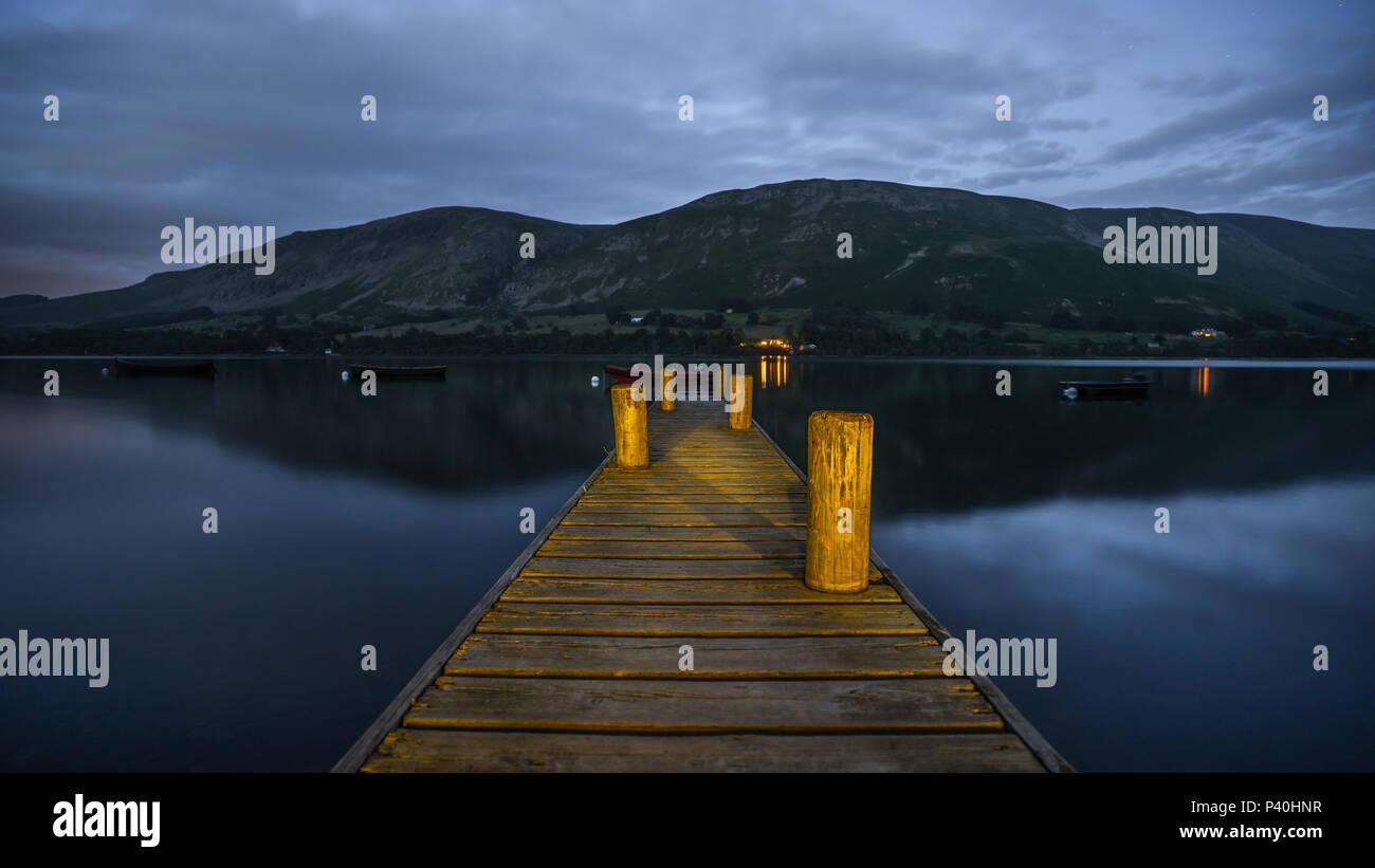 Boat Jetty - Stock Image