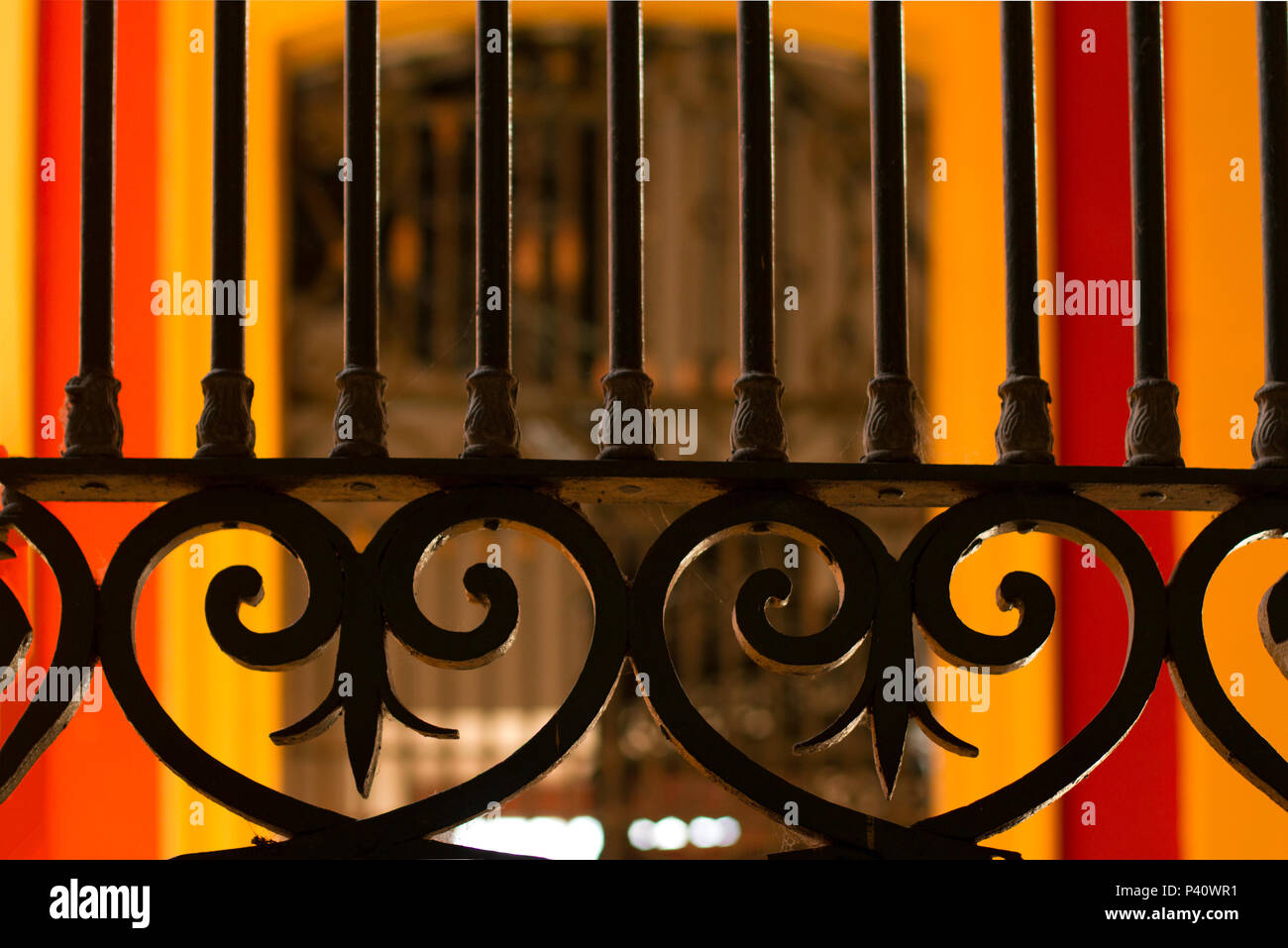 Manaus - AM Mercado Municipal Adopho Lisboa inaugurado em 1882 estilo Art Noveau período áureo da borracha Mercadão Tombado pelo Instituto do Patrimônio Histórico e Artístico Nacional – IPHAN empresa inglesa Manáos Markets Porto de Manaus Manaus Amazônia Amazonas Norte - Stock Image
