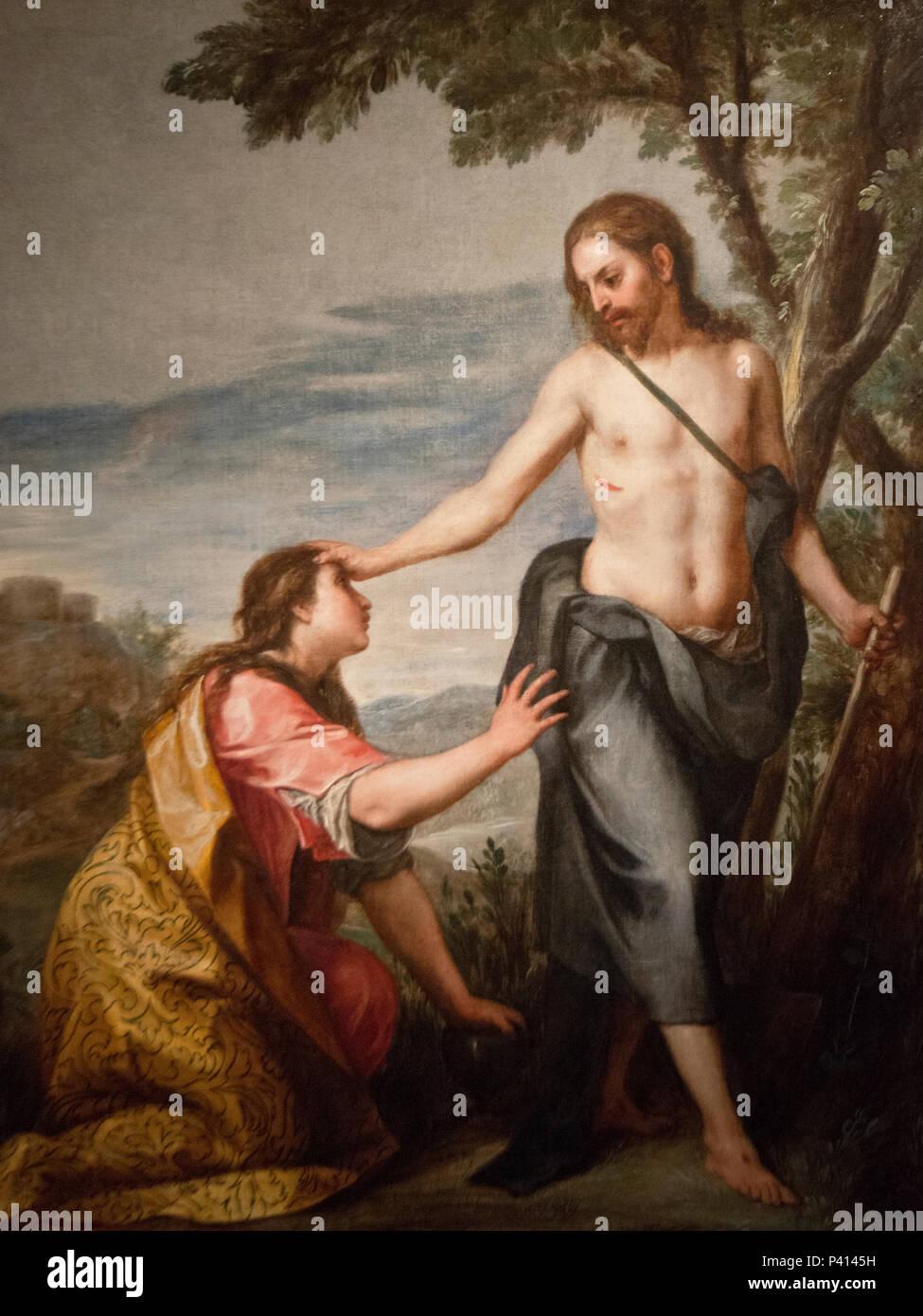 Alonso Cano - Noli me tangere (1646-52) - Stock Image