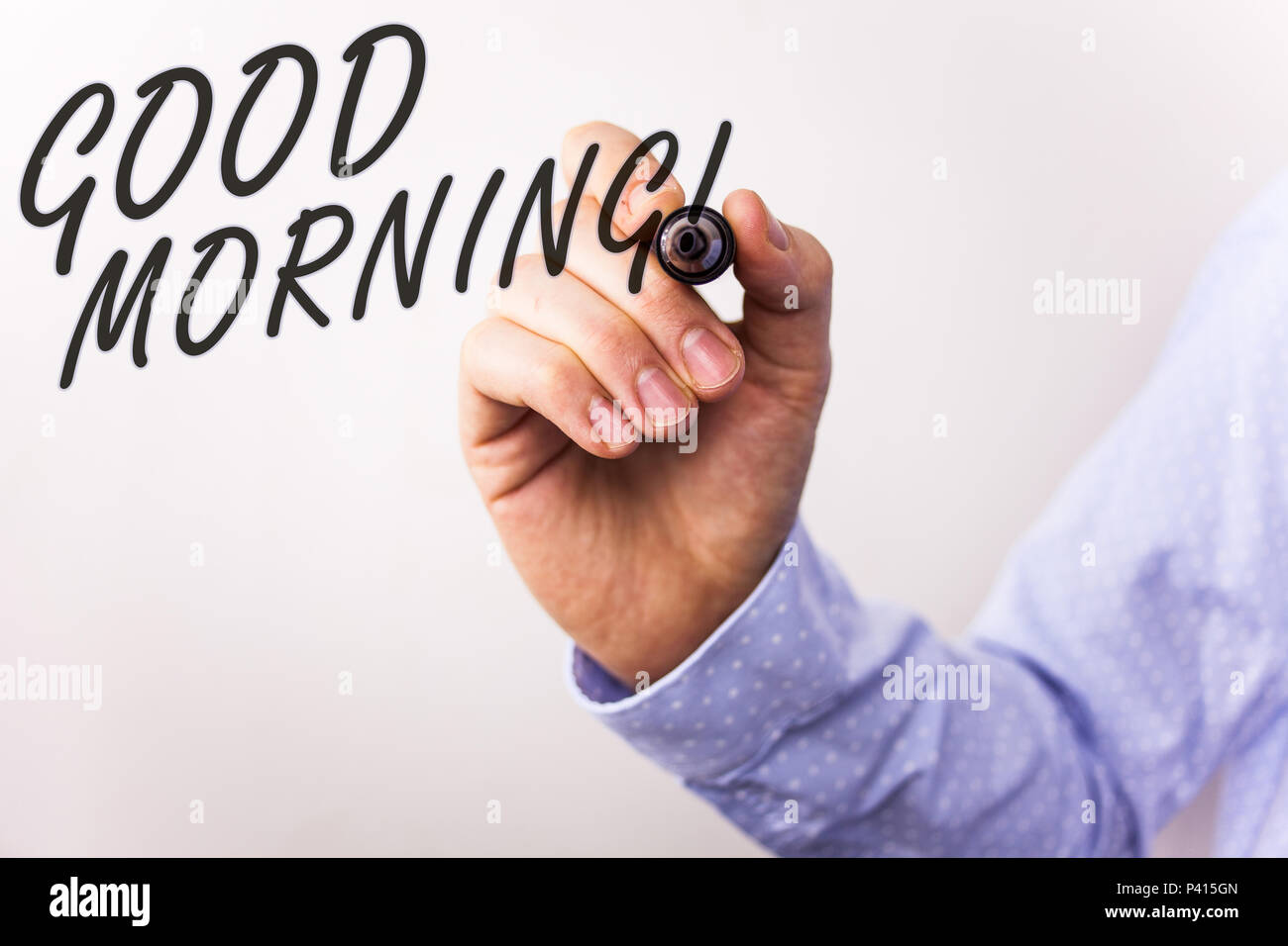 Writing note showing good morning motivational call business photo writing note showing good morning motivational call business photo showcasing greeting wishes for a great day inspirational m4hsunfo