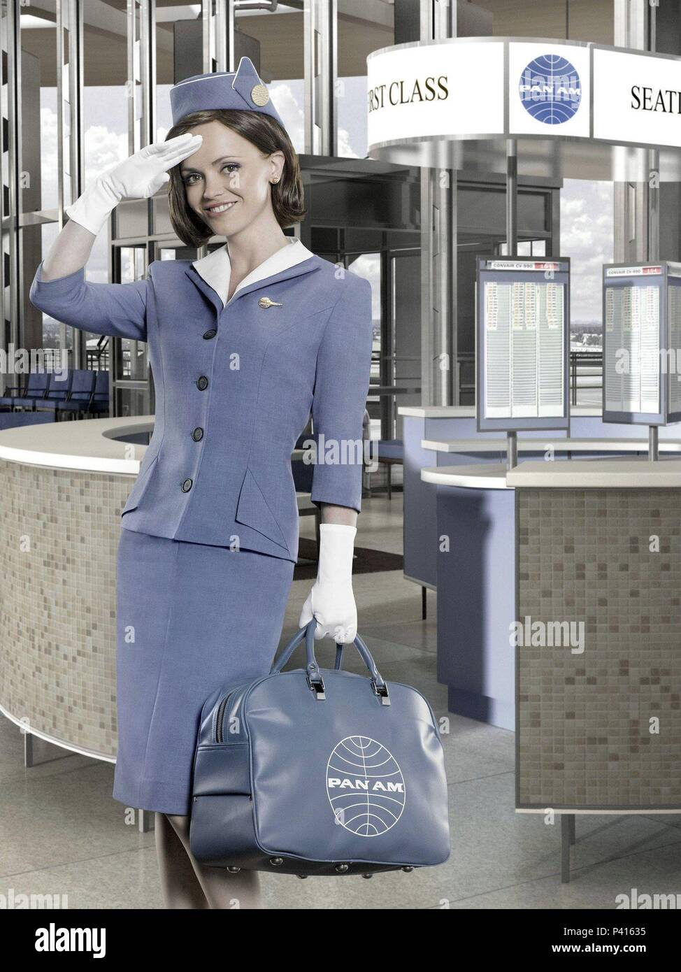 091f97c140a Pan Am Stewardess Stock Photos & Pan Am Stewardess Stock Images - Alamy