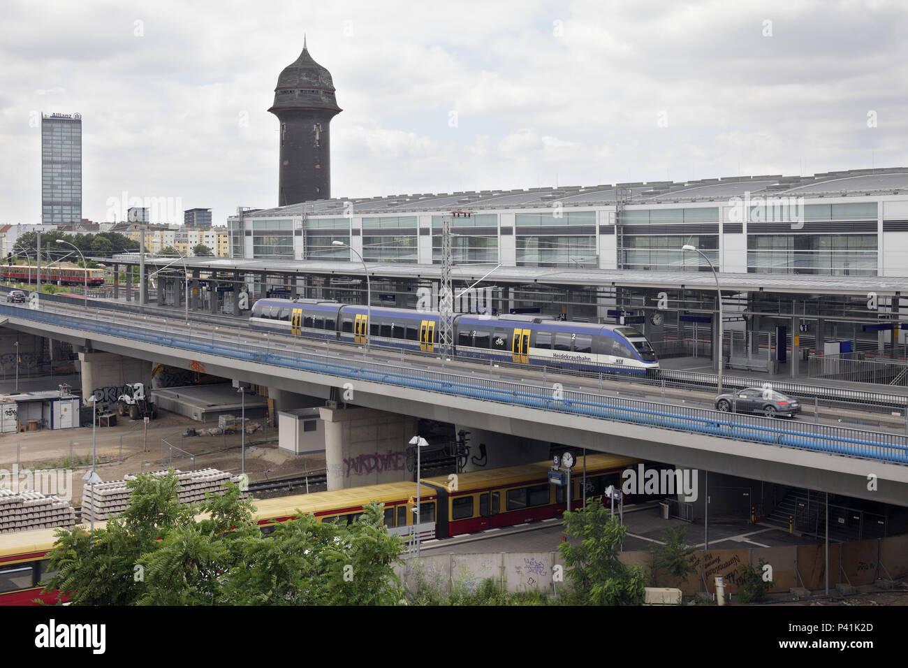 Berlin, Germany, Ostkreuz station - Stock Image