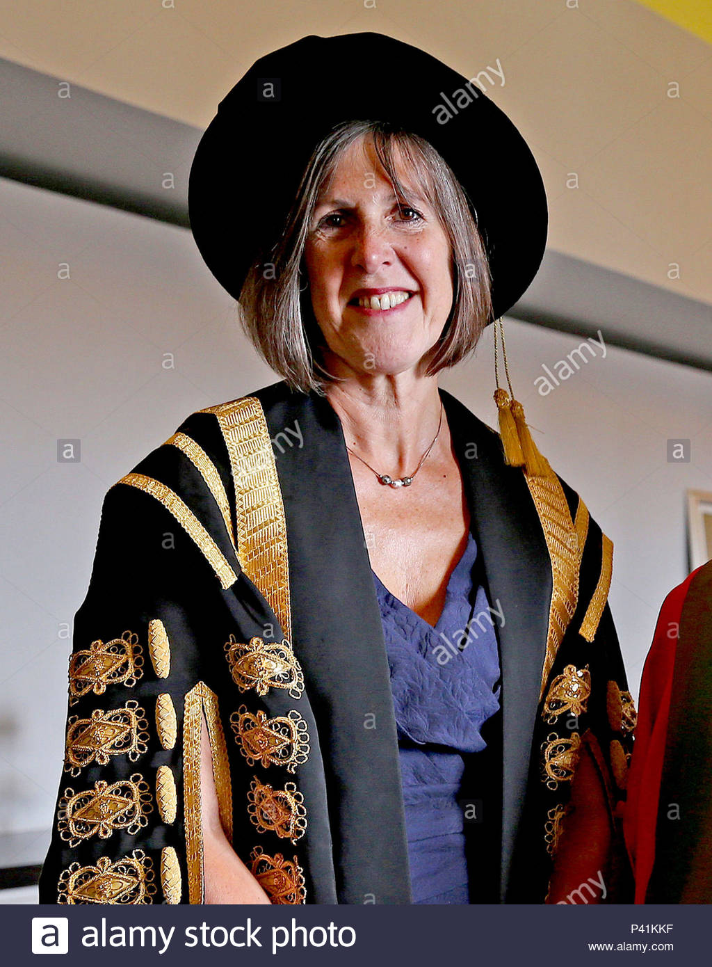 """File photo dated 22/07/15 of University of Universities UK president Professor Dame Janet Beer, who has said that there is a """"postcode lottery"""" when it comes to the current financial advice available. Universities UK said students need to be given clearer information about tuition fees and student loan repayments as some students may be put off going to university due to concerns around overwhelming debt. - Stock Image"""