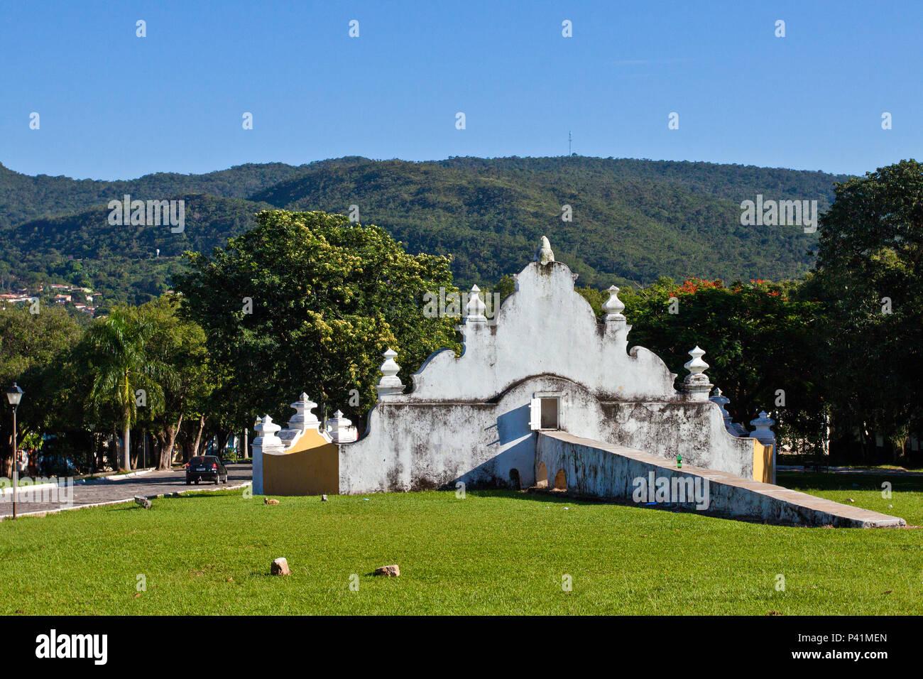 Goiás - GO Chafariz de Cauda da Boa Morte Patrimônio Histórico Cidade Histórica Goiás Goias Velho Centro Oeste Brasil Stock Photo