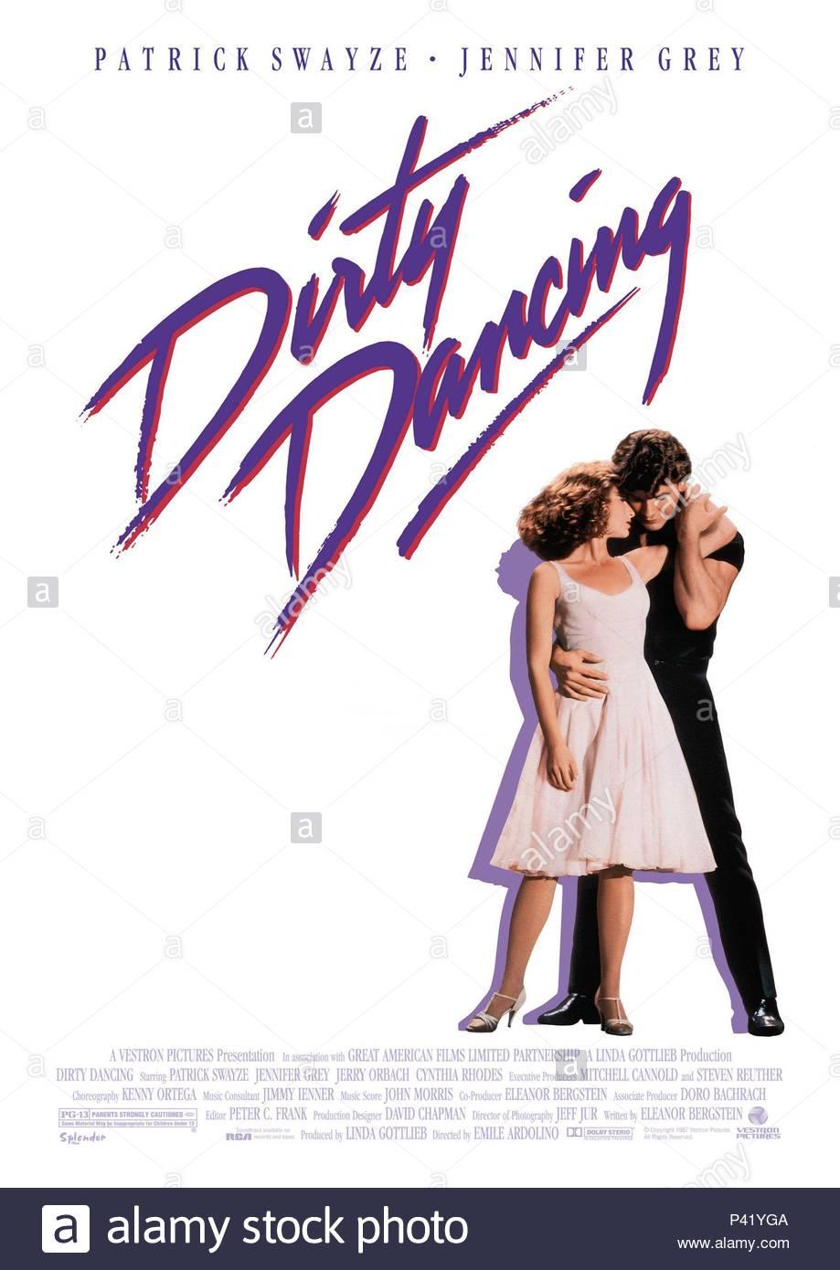 Original Film Title: DIRTY DANCING. English Title: DIRTY DANCING ...