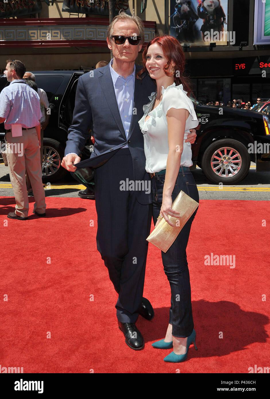 Bill Nighy And Kelli Garner G Force Premiere At The El Capitan Theatre In Los Angeles