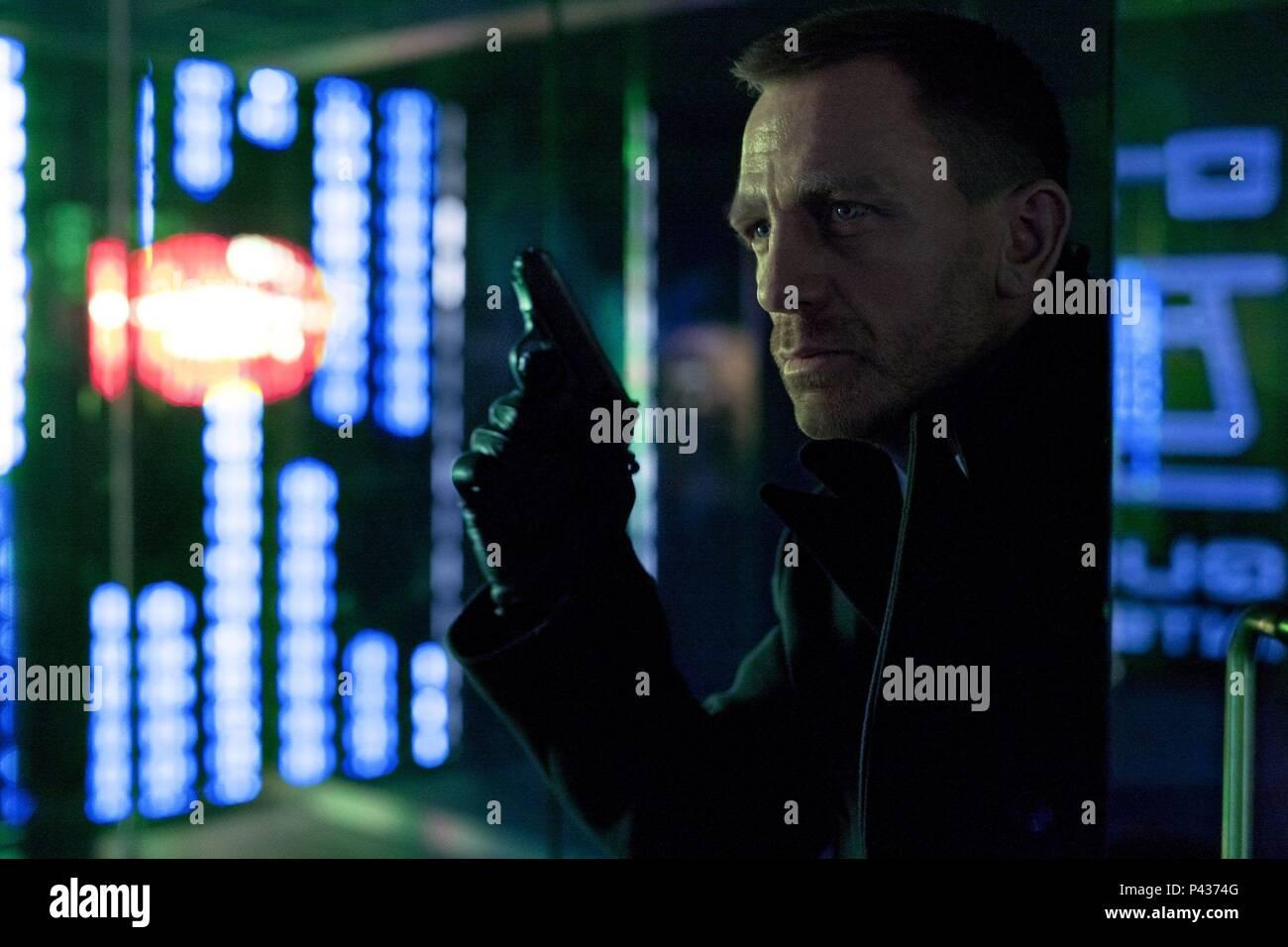 Original Film Title: SKYFALL.  English Title: SKYFALL.  Film Director: SAM MENDES.  Year: 2012.  Stars: DANIEL CRAIG. Credit: COLUMBIA PICTURES / Album - Stock Image