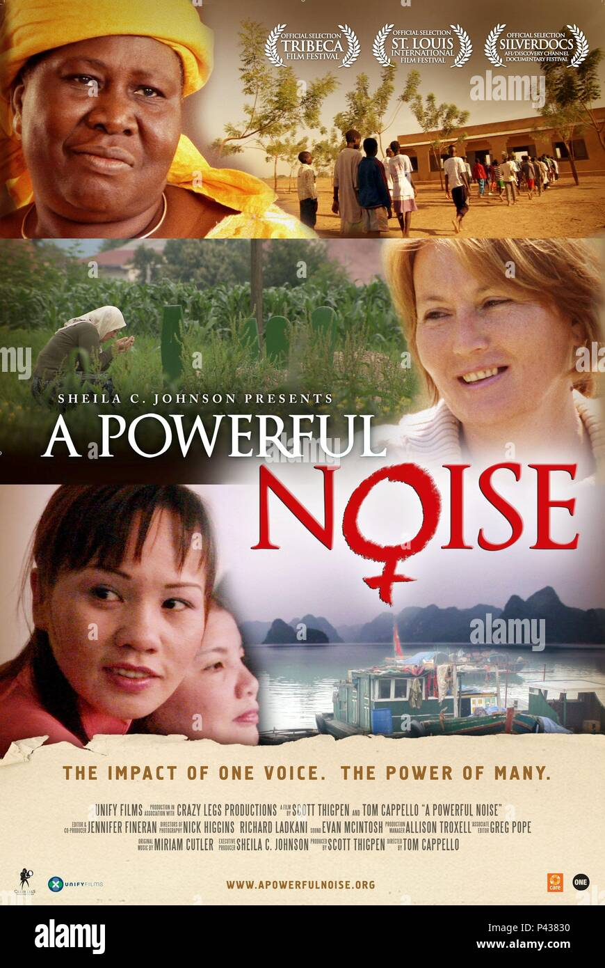 Original Film Title: A POWERFUL NOISE.  English Title: A POWERFUL NOISE.  Film Director: TOM CAPPELLO.  Year: 2008. Credit: UNIFY FILMS / Album - Stock Image