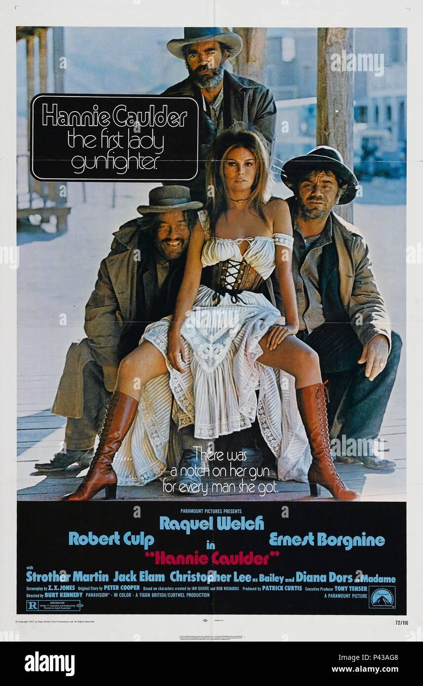 Original Film Title: HANNIE CAULDER.  English Title: HANNIE CAULDER.  Film Director: BURT KENNEDY.  Year: 1971. Credit: PARAMOUNT PICTURES / Album - Stock Image