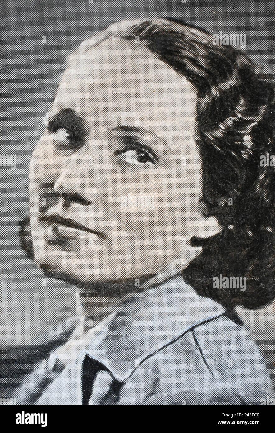 Horney women during world war ii retro