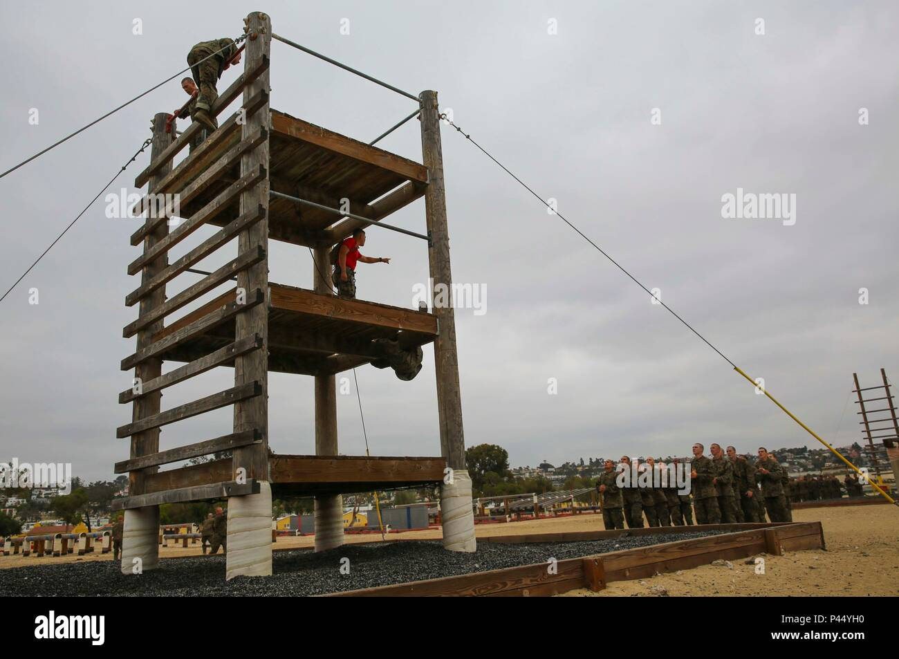 confidence course obstacles
