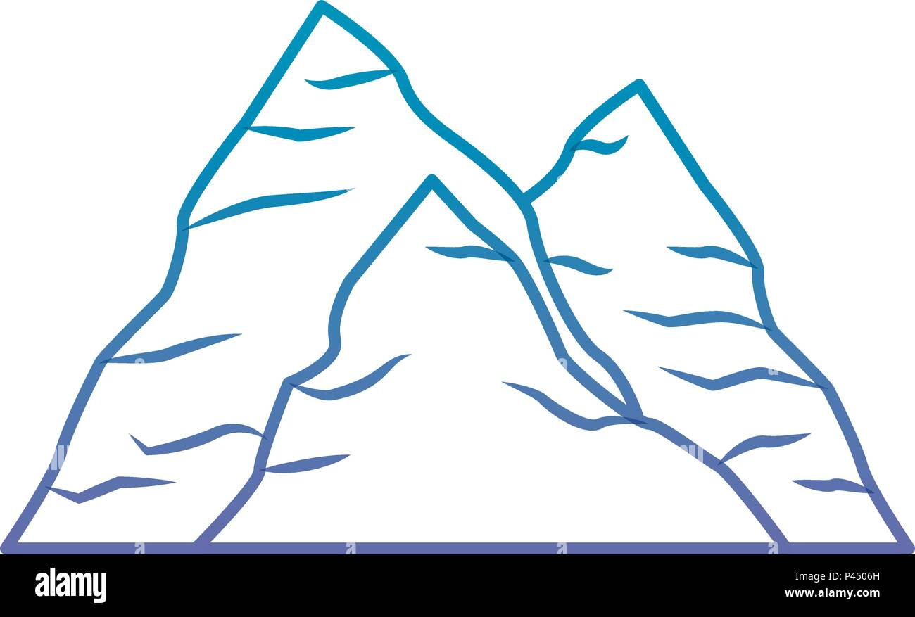 mining rock isolated icon - Stock Vector