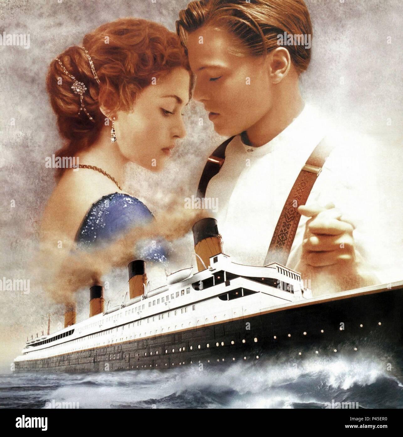 Titanic Movie: Titanic Poster Film Stock Photos & Titanic Poster Film