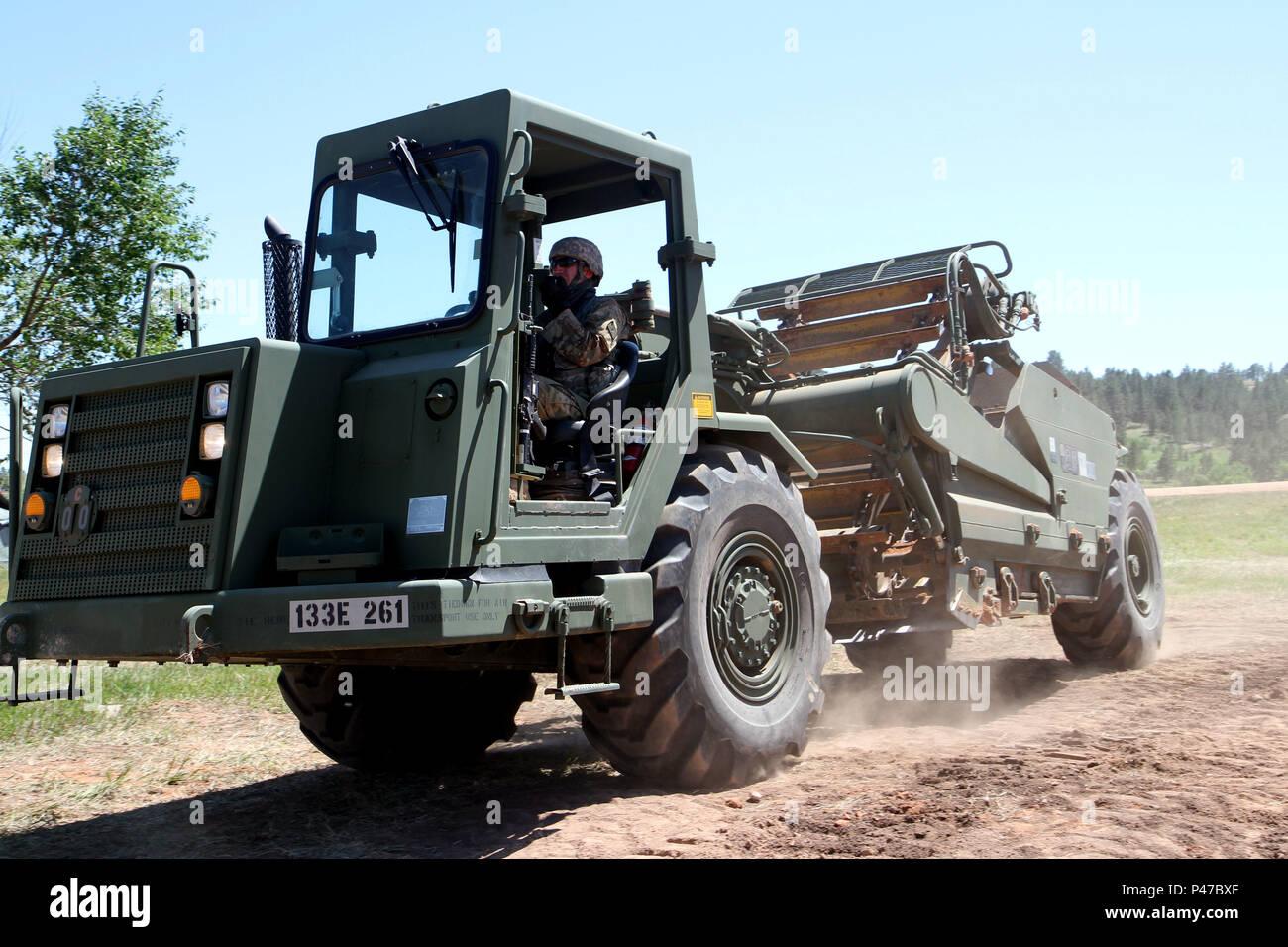 U S  Army Spc  Ian Staley, heavy equipment operator with the