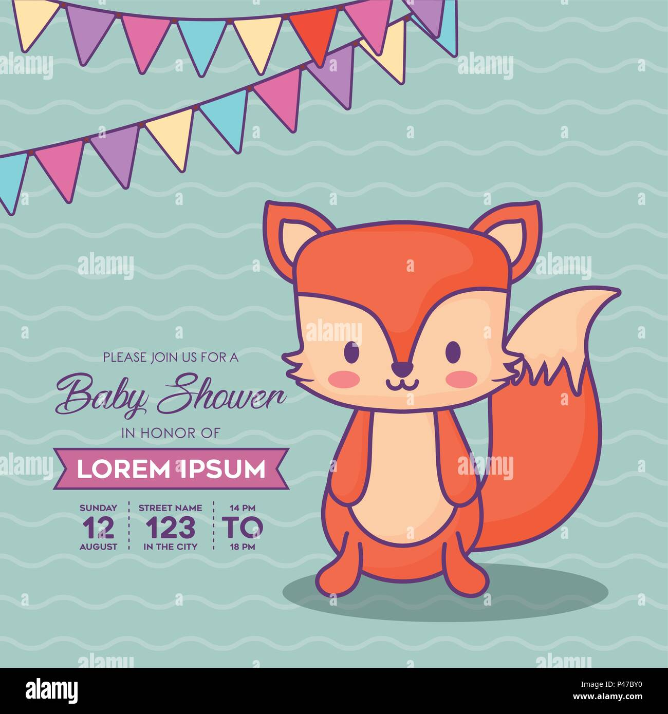 Famous Cute Girl Baby Shower Invitations Ornament - Invitations and ...