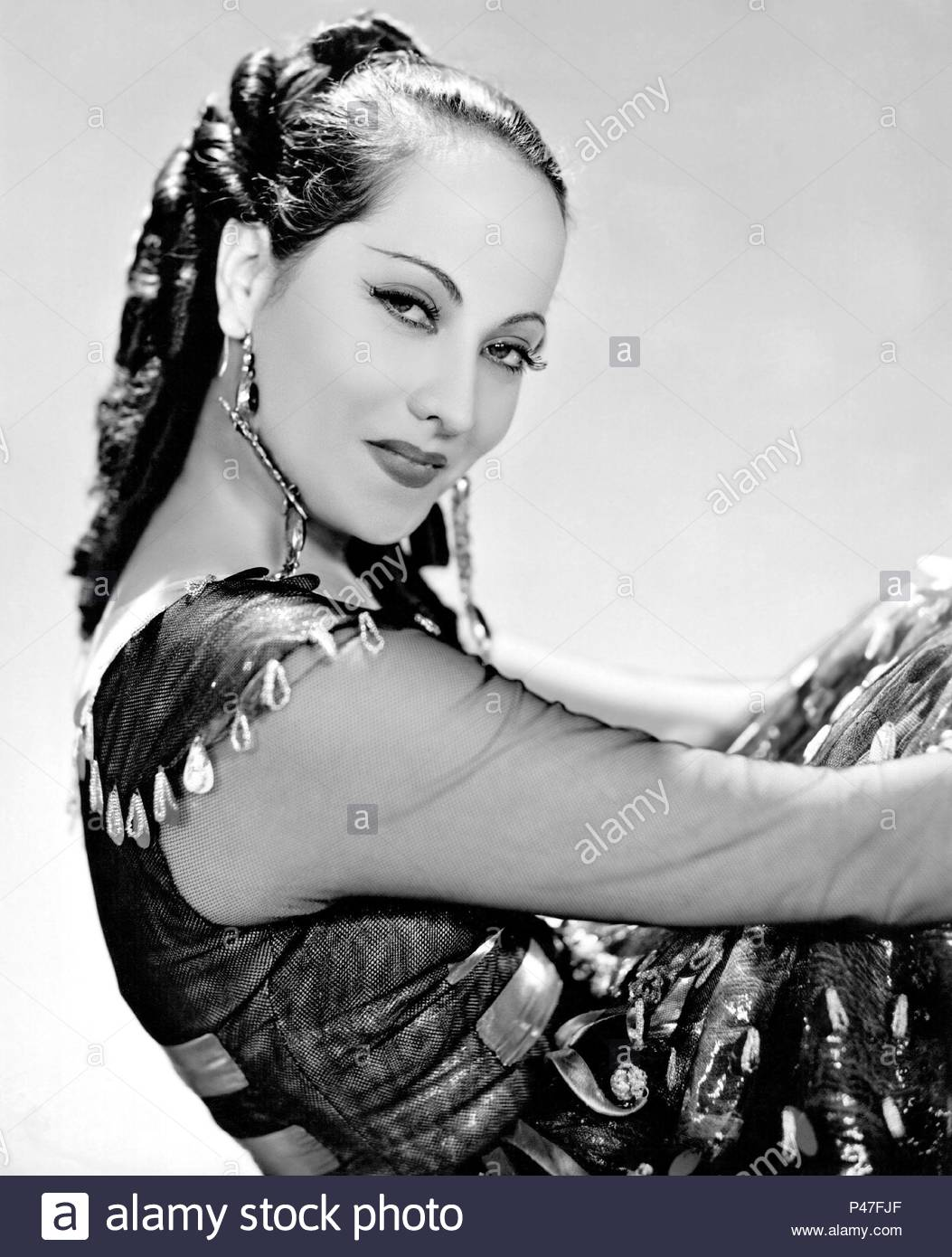 Original Film Title: THE PRIVATE LIFE OF DON JUAN.  English Title: THE PRIVATE LIFE OF DON JUAN.  Film Director: ALEXANDER KORDA.  Year: 1934.  Stars: MERLE OBERON. Credit: LONDON FILMS / Album - Stock Image