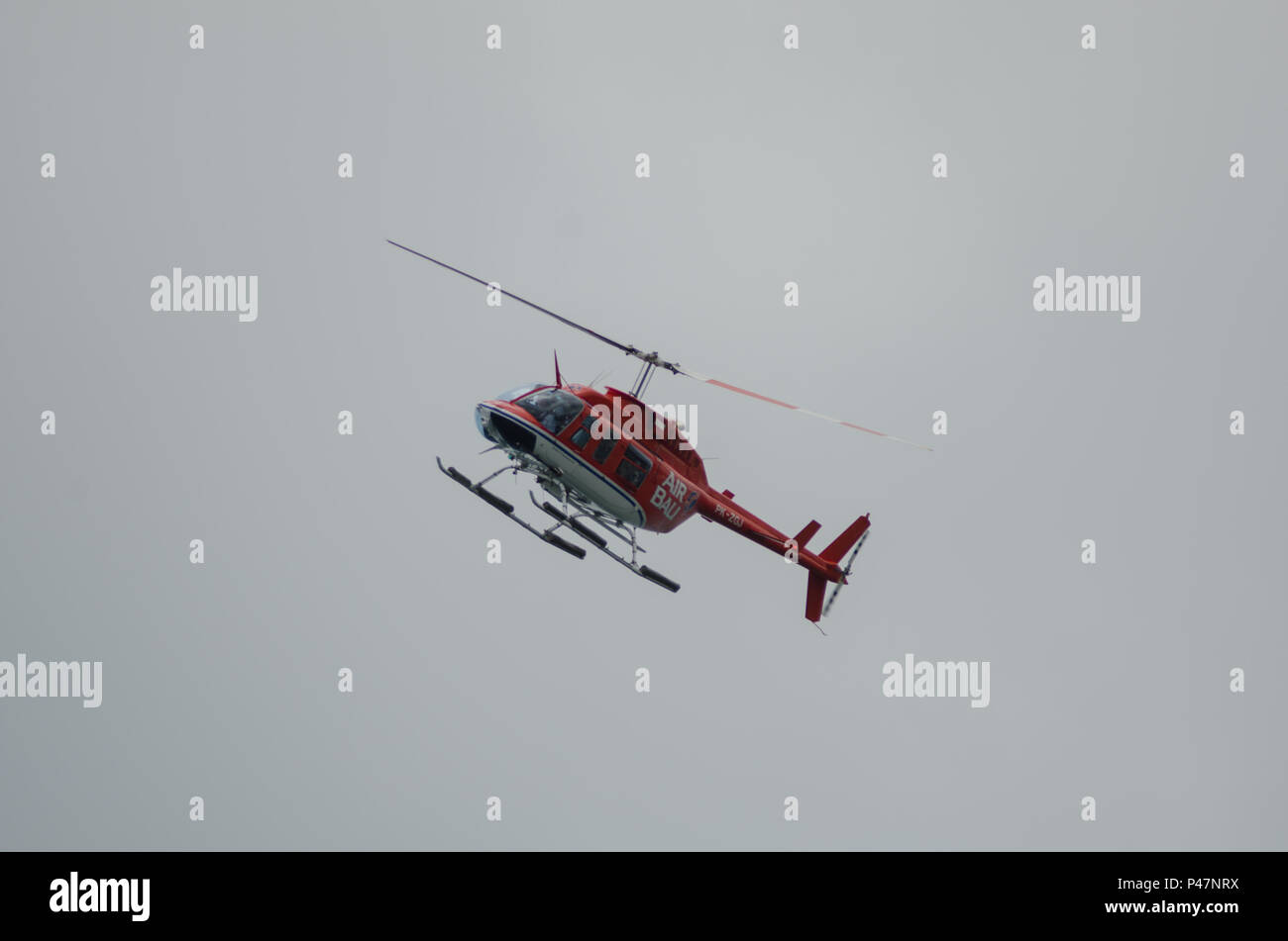 Bali Air Helicopter Sky Tours Bali Indonesia Stock Photo