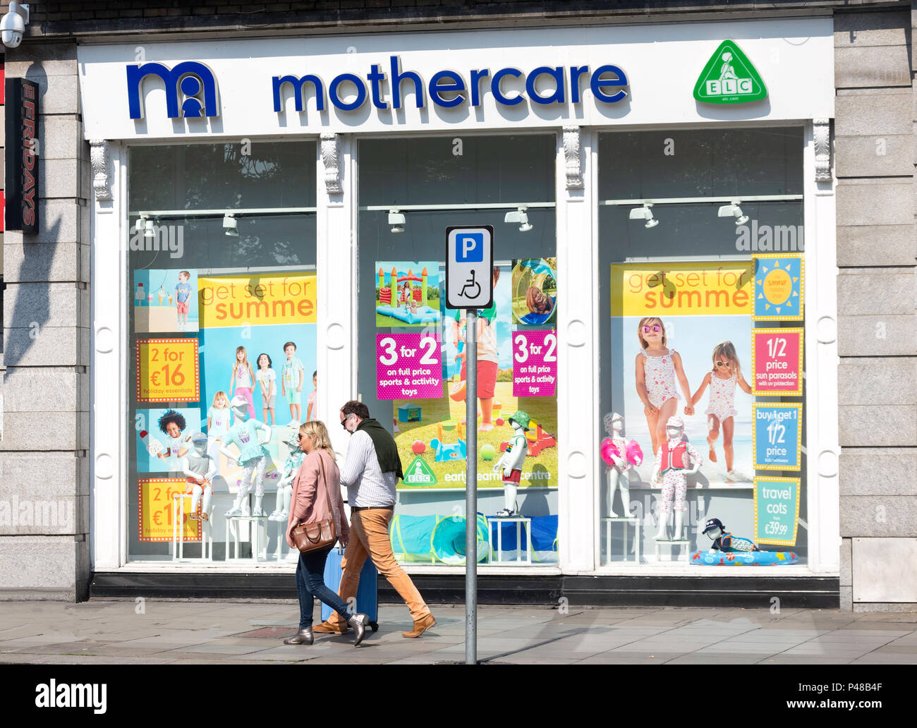 Mothercare Maternity Wear Store St Stephen S Green Dublin Leinster Province Republic Of Ireland Stock Photo Alamy