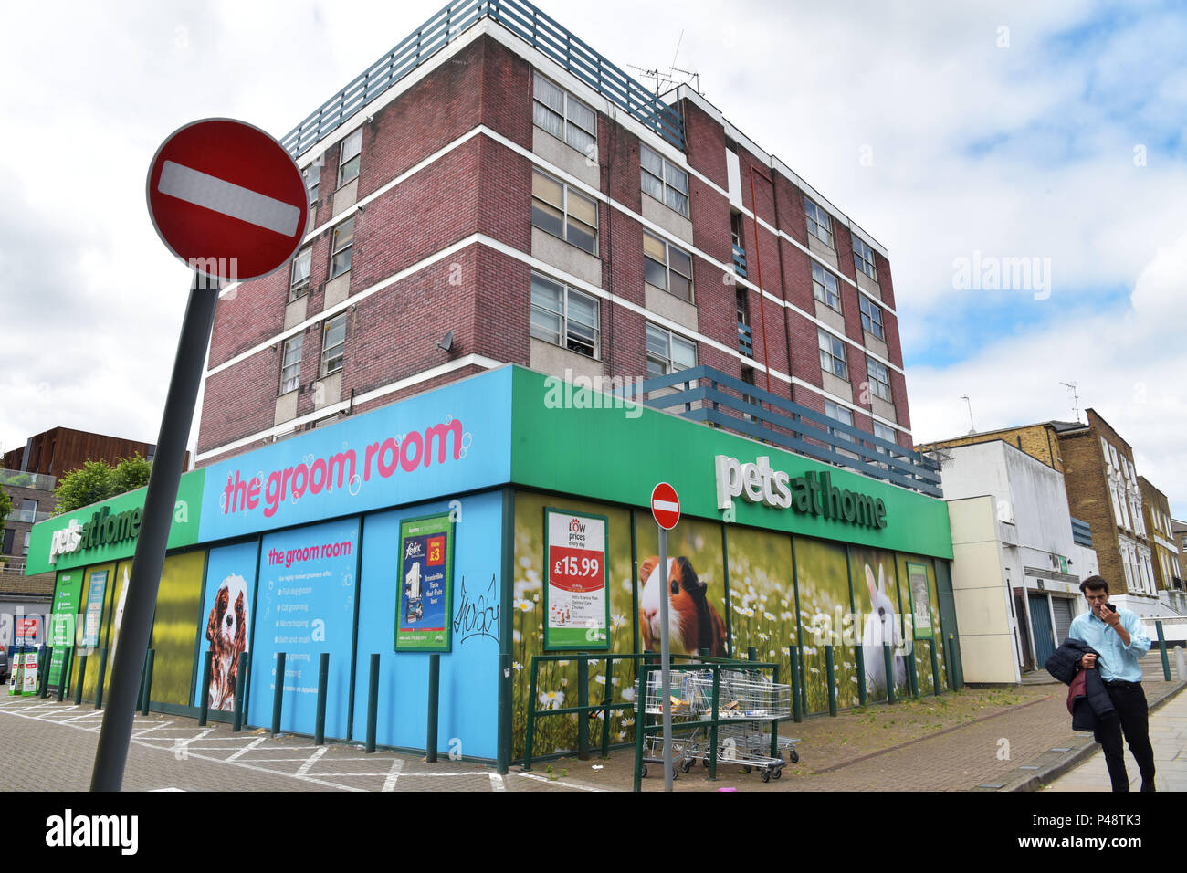 A Branch Of The Specialist Retailer Pets At Home On Camden Road North London