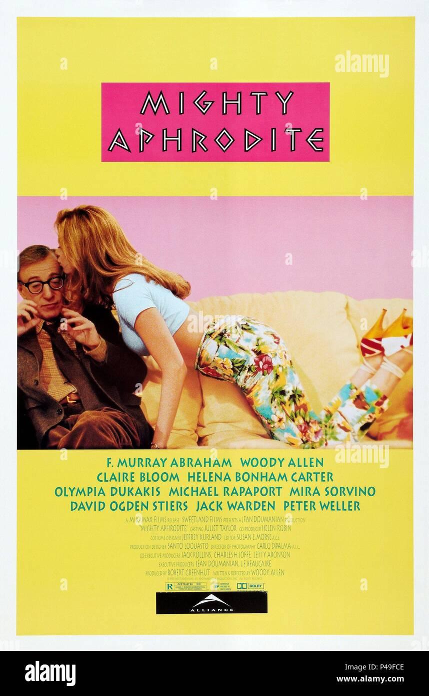 Original Film Title: MIGHTY APHRODITE.  English Title: MIGHTY APHRODITE.  Film Director: WOODY ALLEN.  Year: 1995. Credit: MIRAMAX / Album - Stock Image