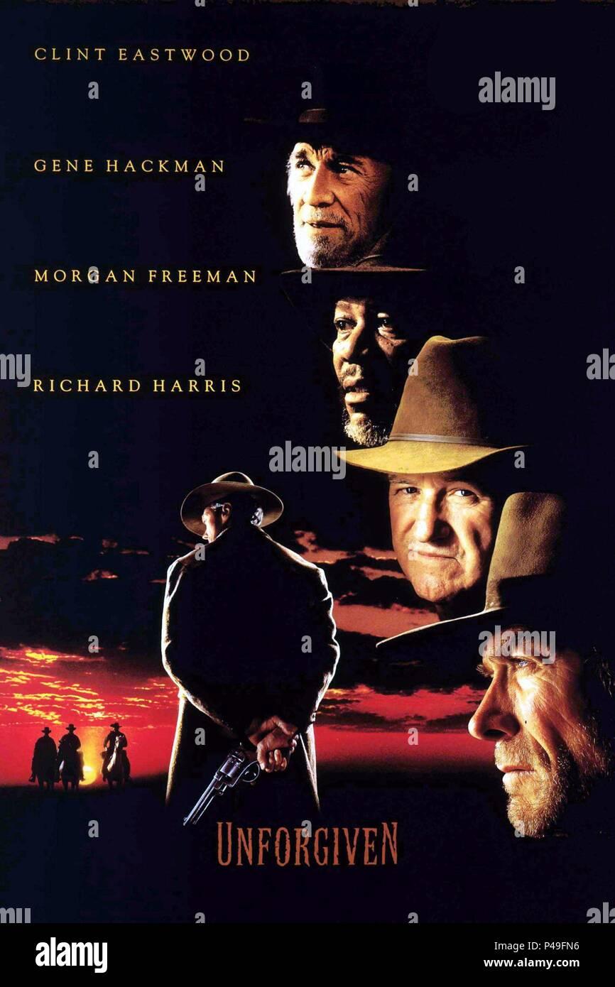 Original Film Title: UNFORGIVEN.  English Title: UNFORGIVEN.  Film Director: CLINT EASTWOOD.  Year: 1992. Credit: WARNER BROTHERS / Album - Stock Image