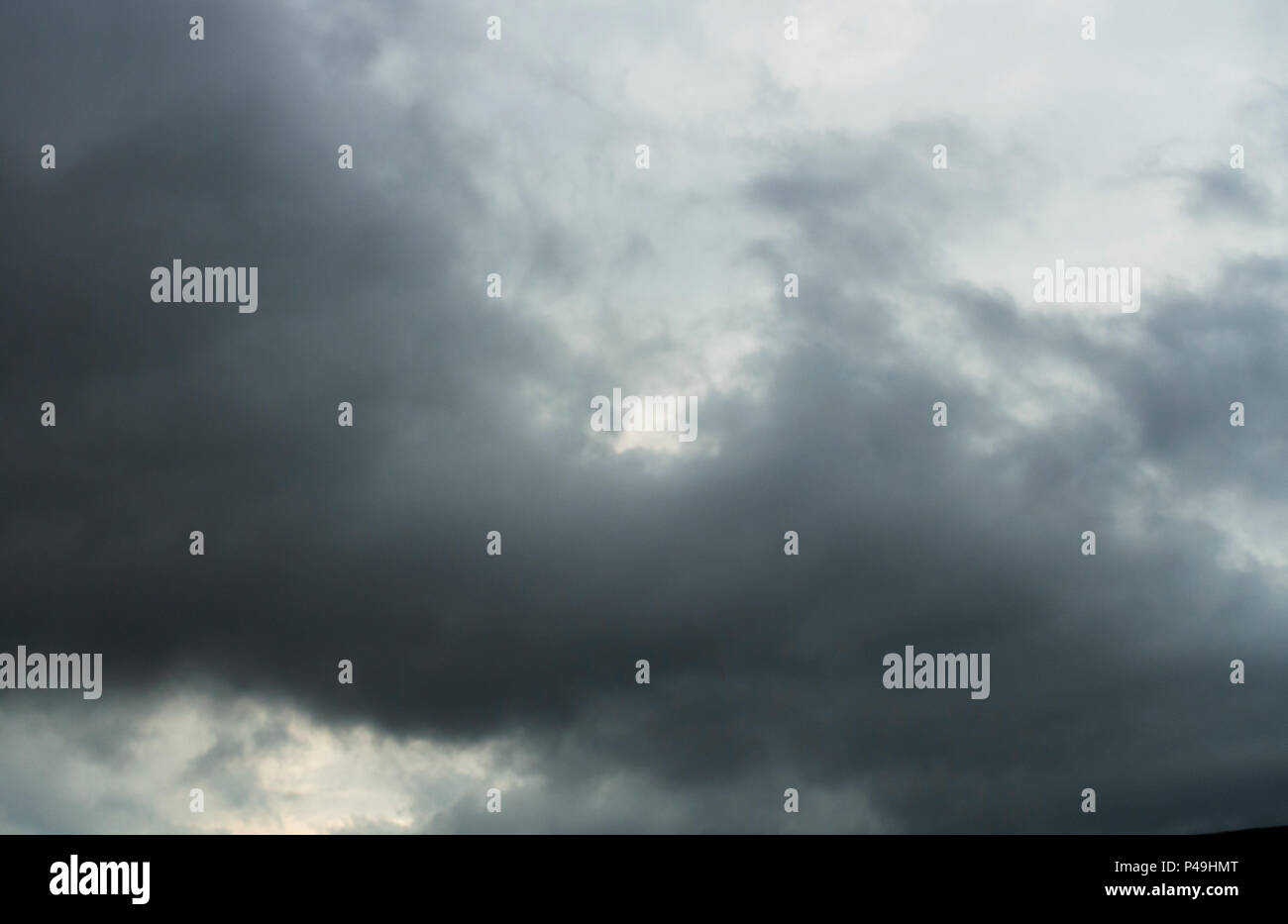 Nimbus rain clouds - Stock Image