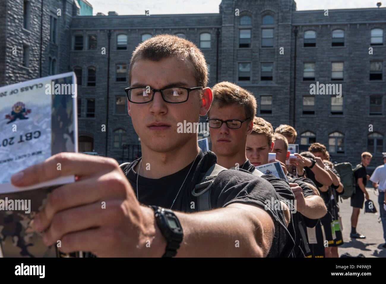 Future Cadets at the U S  Military Academy at West Point