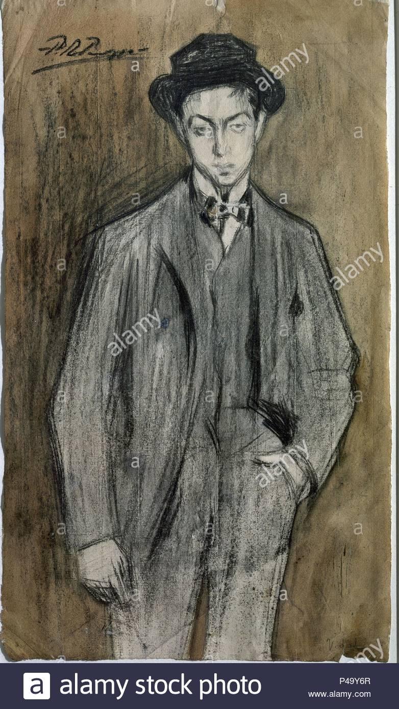 JUAN VIDAL Y VENTOSA - 1899 - CARBONCILLO Y ACUARELA SOBRE PAPEL. Author   Pablo 8373f633e43