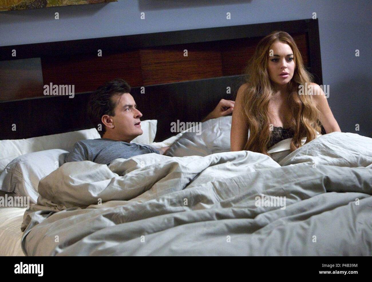 Original Film Title Scary Movie 5 English Title Scary Movie 5 Film Director Malcolm D Lee Year 2013 Stars Lindsay Lohan Charlie Sheen Credit Dimension Films Album Stock Photo Alamy