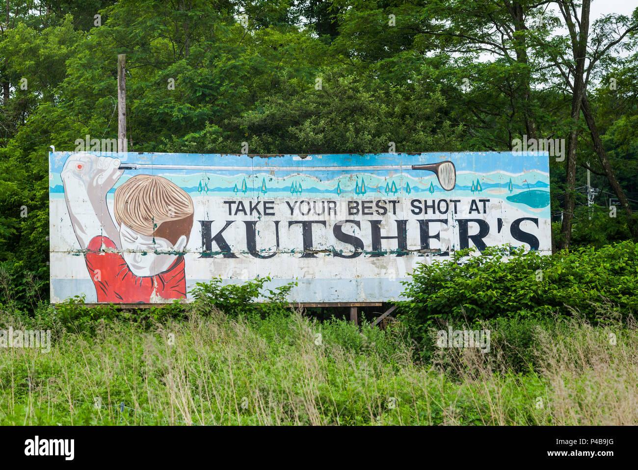 Sign Catskills Stock Photos & Sign Catskills Stock Images