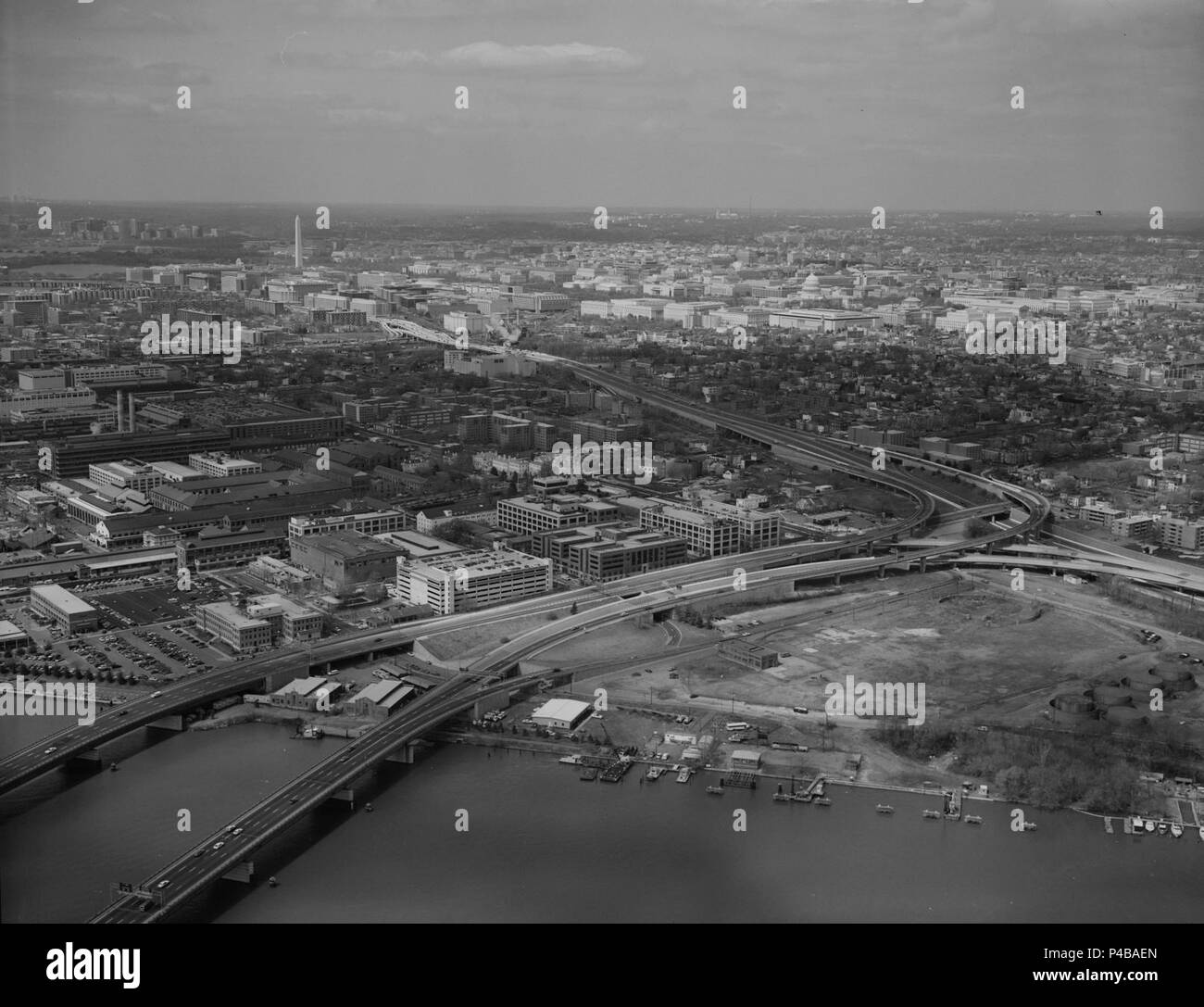 11thstreetbridges 1992. - Stock Image