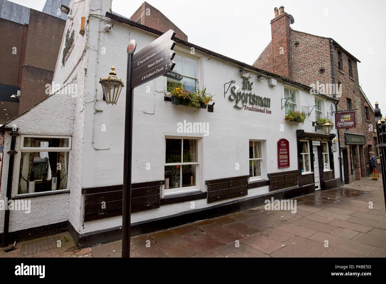 The Sportsman traditional inn Carlisle Cumbria England UK - Stock Image