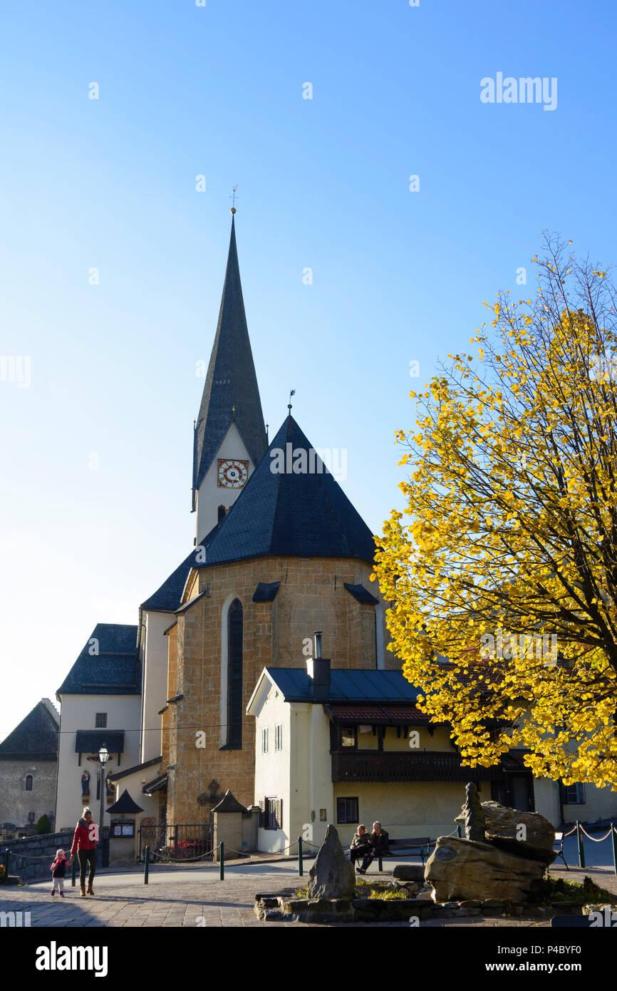 Stuhlfelden, church, Pinzgau, Salzburg, Austria Stock Photo