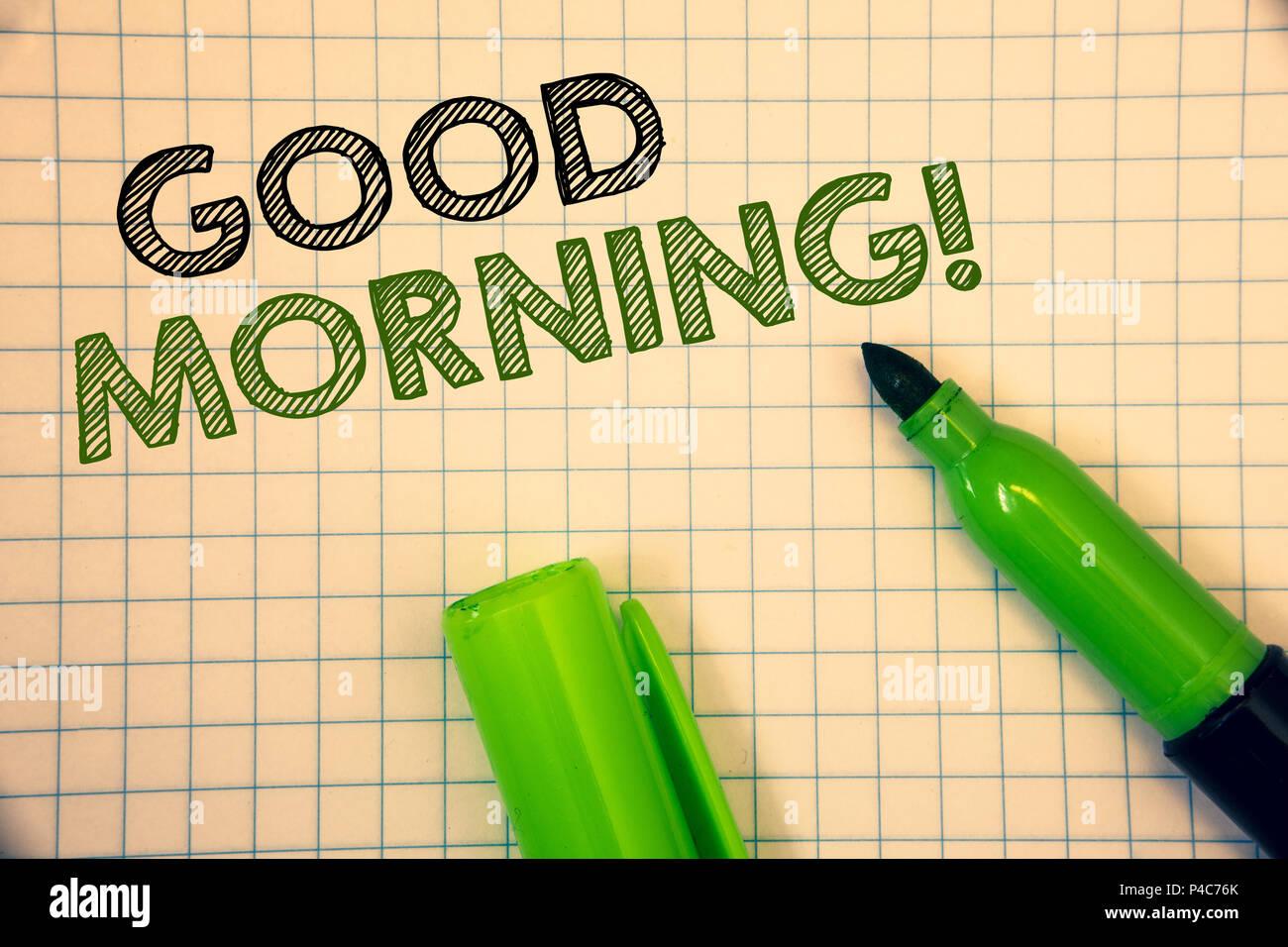 Wordss Writing Textss Good Morning Motivational Call Business
