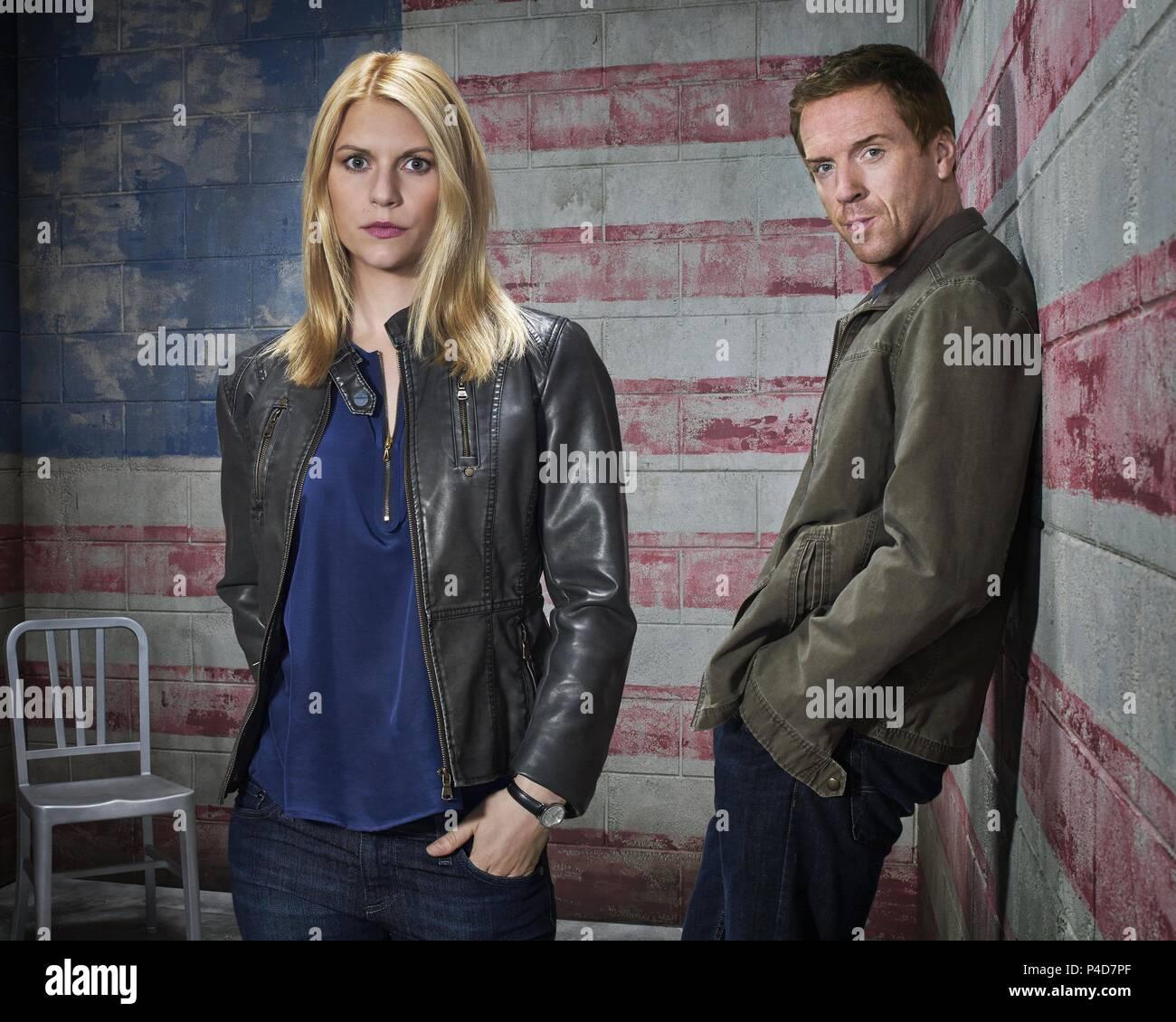 Description: Season 3.  Original Film Title: HOMELAND.  English Title: HOMELAND.  Year: 2011.  Stars: CLAIRE DANES; DAMIAN LEWIS. Credit: FOX 21 / Album - Stock Image