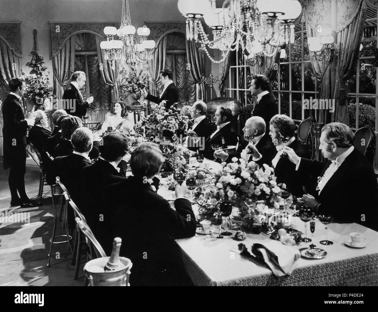 ESCENA DE LA PELICULA 'LOS HOMBRES QUE LA AMARON' - 1941. Author: RATOFF, GREGORY. - Stock Image