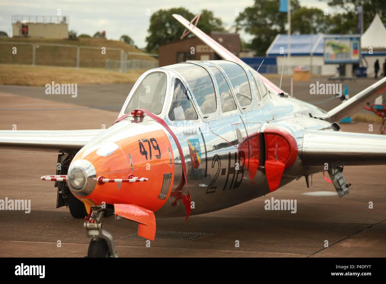 Fouga CM.170 Magister - Stock Image