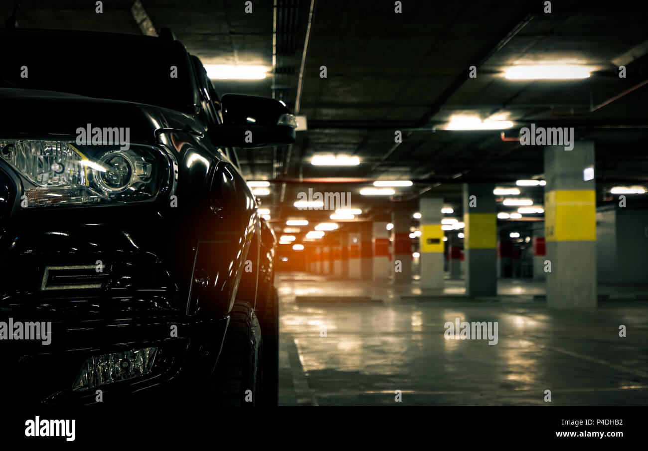 Large Underground Car Park High Resolution Stock Photography And Images Alamy