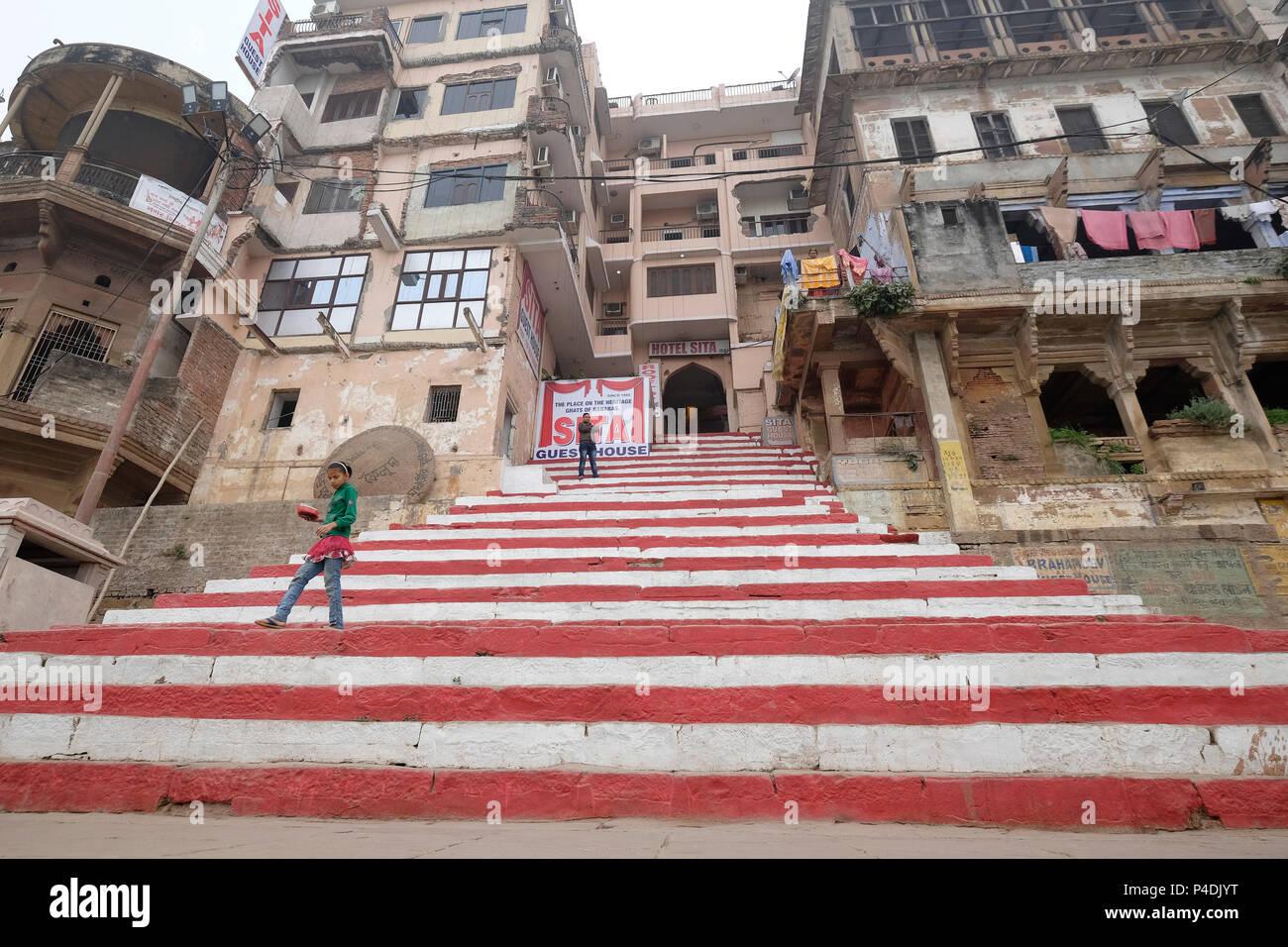 9c368d2ced61c2 India, Varanasi, daily life Stock Photo  209283308 - Alamy