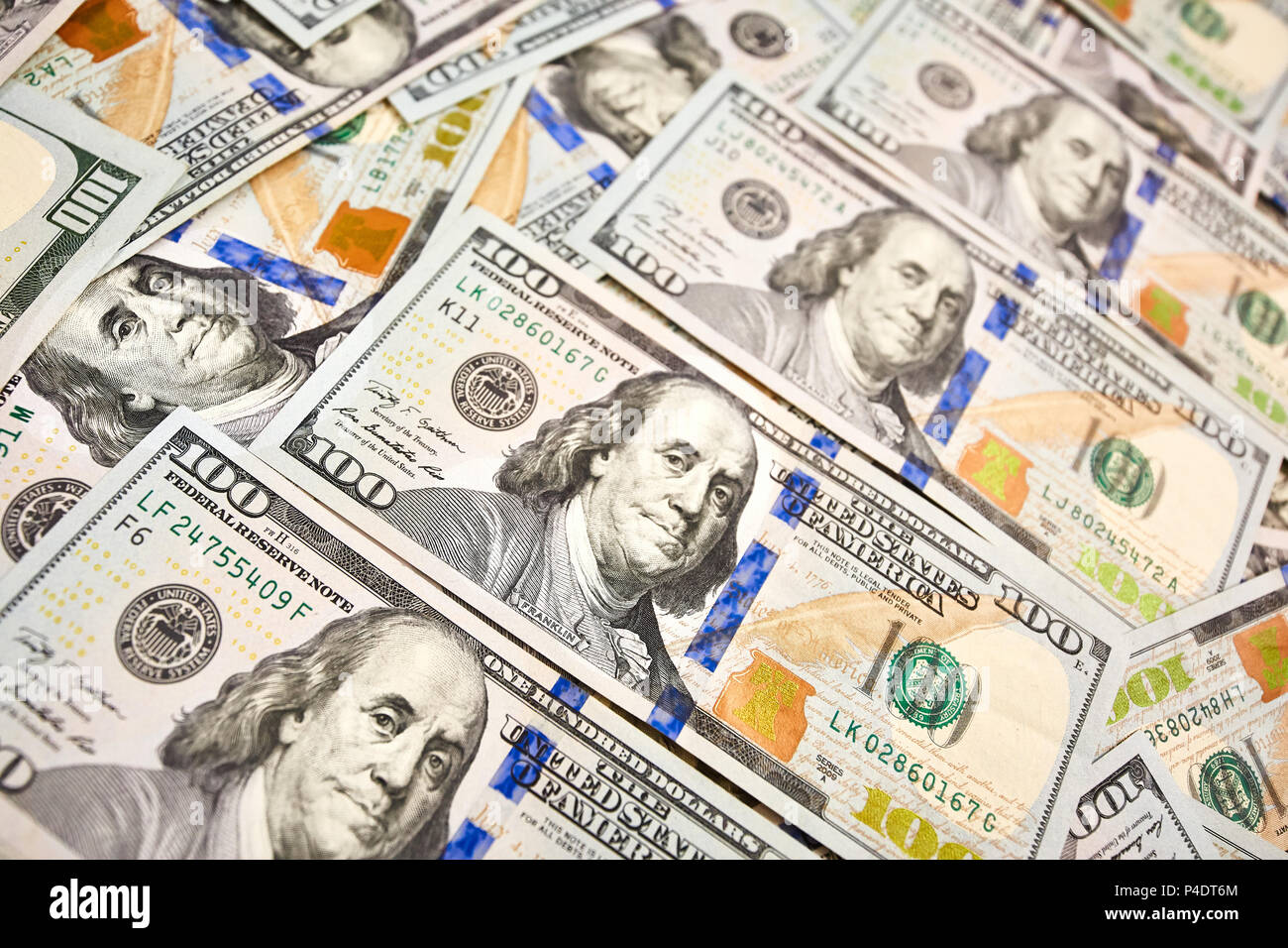 Wallpaper background american money hundred dollar bill view fro stock photo 209287420 alamy - 100 dollar wallpaper ...