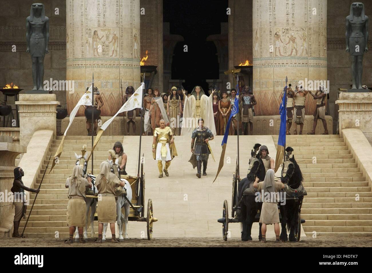 Original Film Title: EXODUS: GODS AND KINGS.  English Title: EXODUS: GODS AND KINGS.  Film Director: RIDLEY SCOTT.  Year: 2014. Credit: CHERNIN ENTERTAINMENT / Album - Stock Image