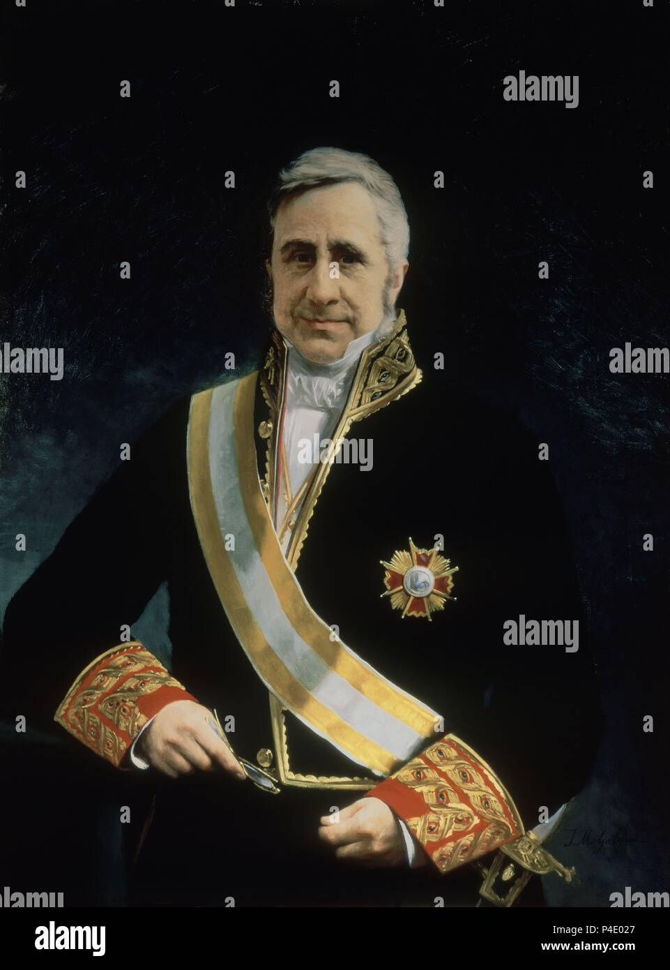 MAURICIO CARLOS DE ONIS Y MERCKLEIN (1790/1861) - CUARTO PRESIDENTE ...