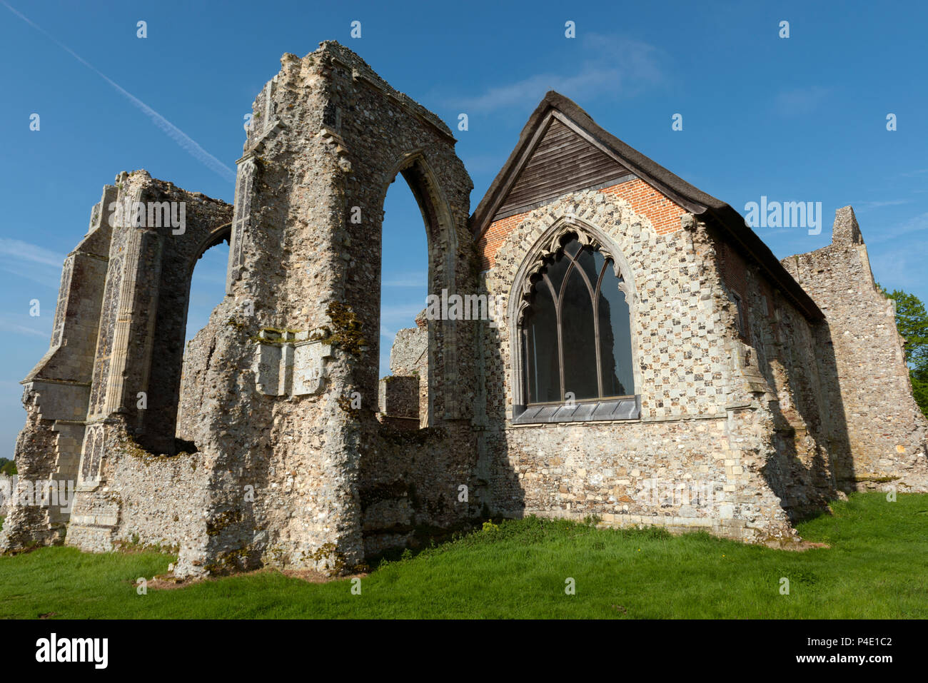 Leiston Abbey, Suffolk, England. - Stock Image