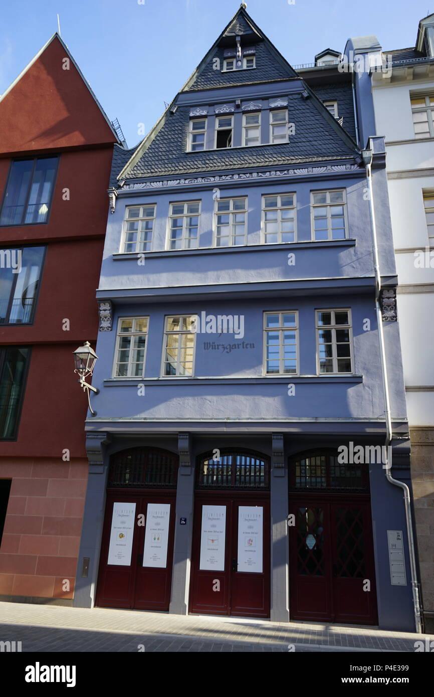 Haus Würzgarten Markt 28 Remake New Old Town Dom Römer