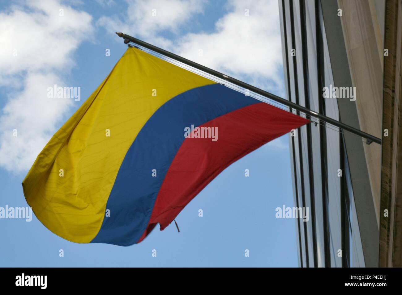 Colombian Embassy in Berlin, May 26, 2018 | usage worldwide - Stock Image